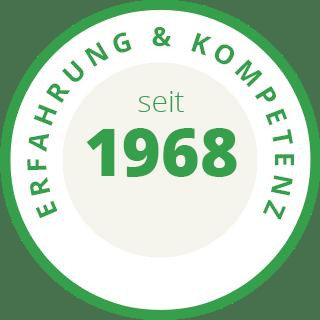 Erfahrung & Kompetenz seit 1968
